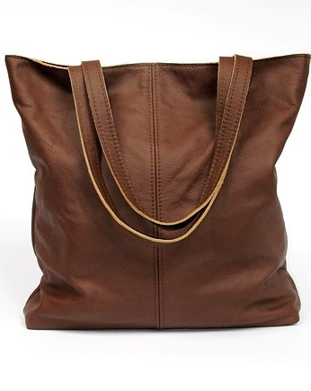 Miss DUO- real leather bag , torby na ramię - damskie