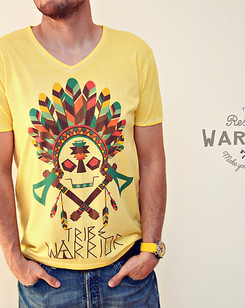 Tribe Warrior, moda - t-shirty - męskie