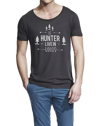 Hunter (bamboo T-shirt), moda - t-shirty - męskie