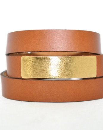 Basic Brown with Gold Bracelet , bransoletki - inne