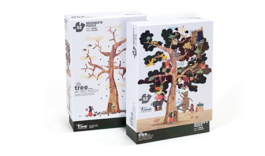 Puzzle dwustronne MY TREE - 1837533