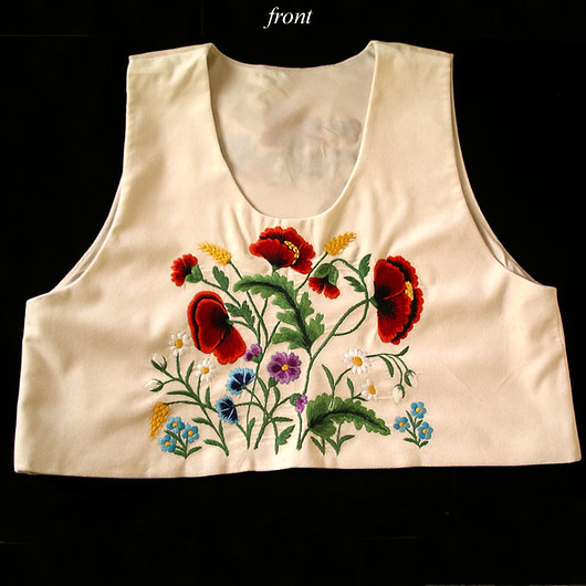 Embroidered Ethnic Vest (Art Embroidery)_2 - 1731899